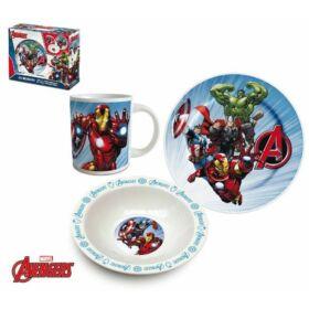 Avengers étkészlet