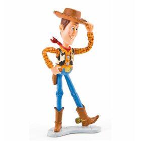 9 cm-es Toy Story Woody gumírozott műanyag figura