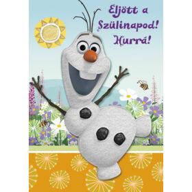 Olaf képeslap - Boldog születésnapot!