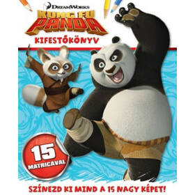 Kung Fu Panda kifestő