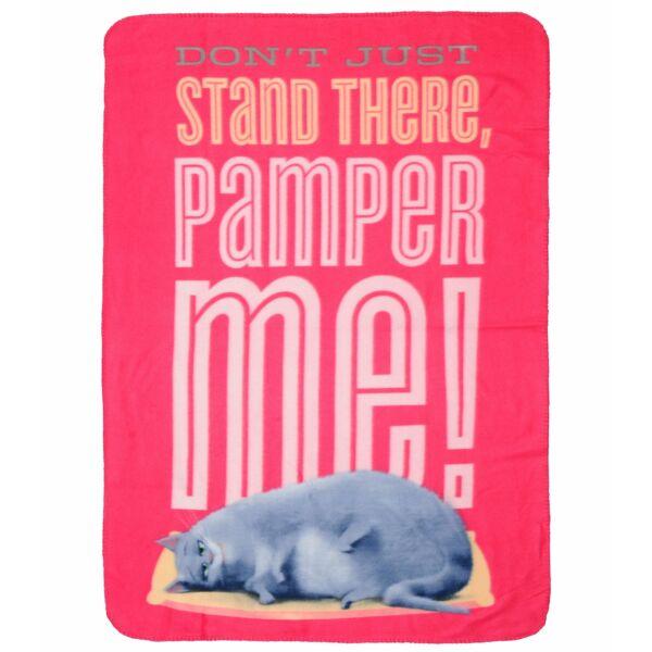 Chloé macska polár takaró