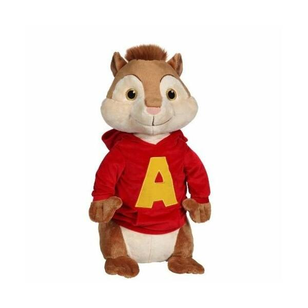 Alvin mókus plüssfigura