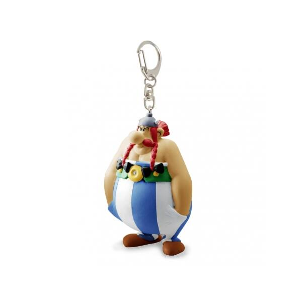Obelix műanyag kulcstartó
