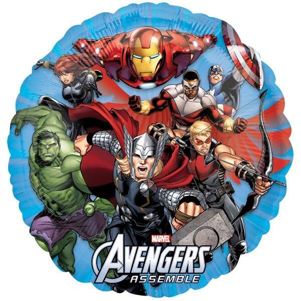 Avengers Bosszúállók héliumos lufi