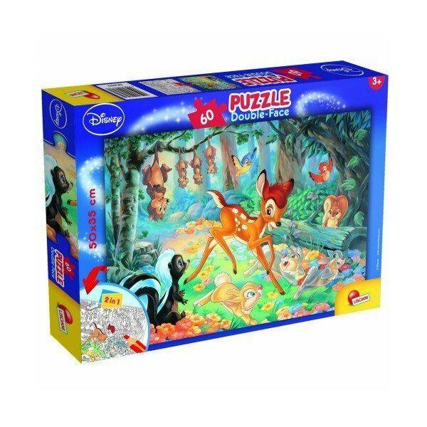 Bambi színezhető puzzle