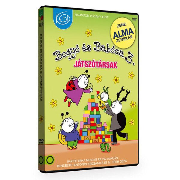 Bogyó és Babóca játszótársak - DVD díszdobozban