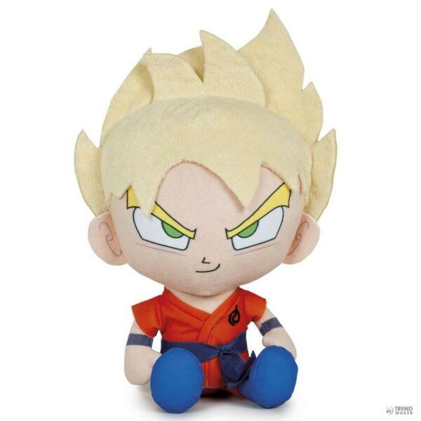 Son Goku szőke plüssfigura