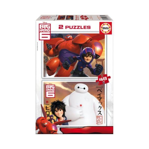 2 x 48 db-os Hős6os puzzle
