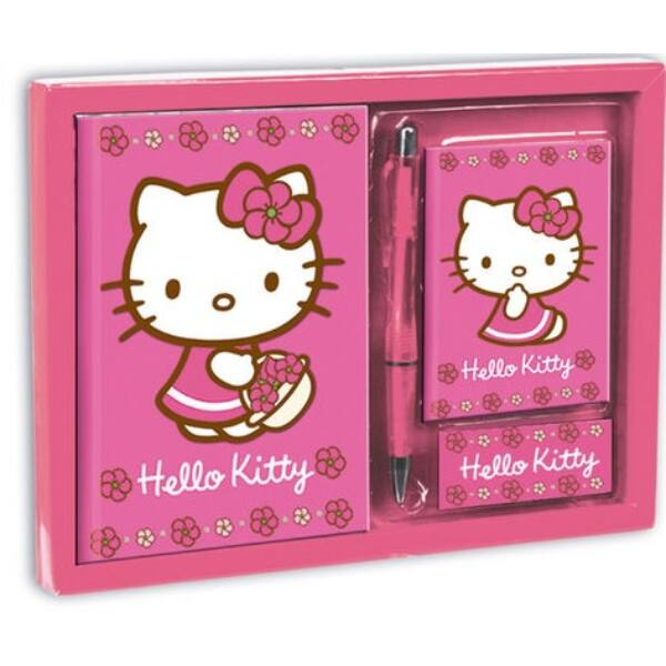 Hello Kitty notesz szett
