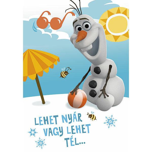 Olaf képeslap - Boldog névnapot!