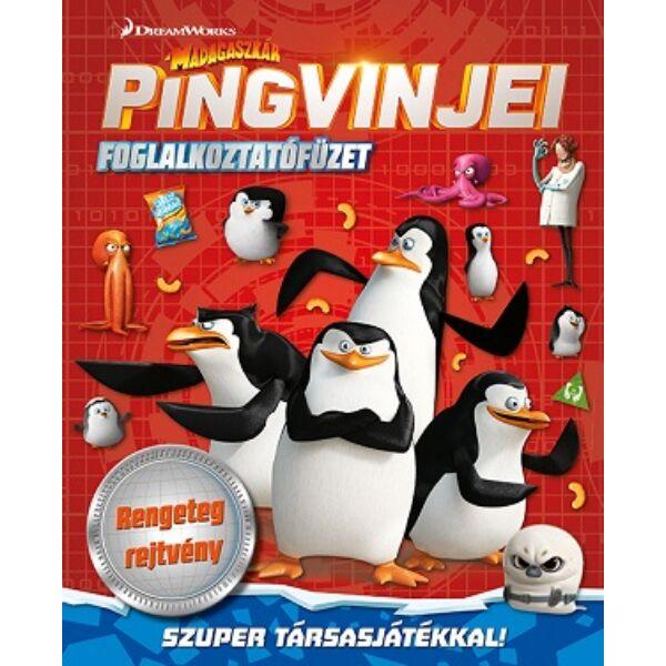 Madagaszkár Pingvinjei foglalkoztatófüzet