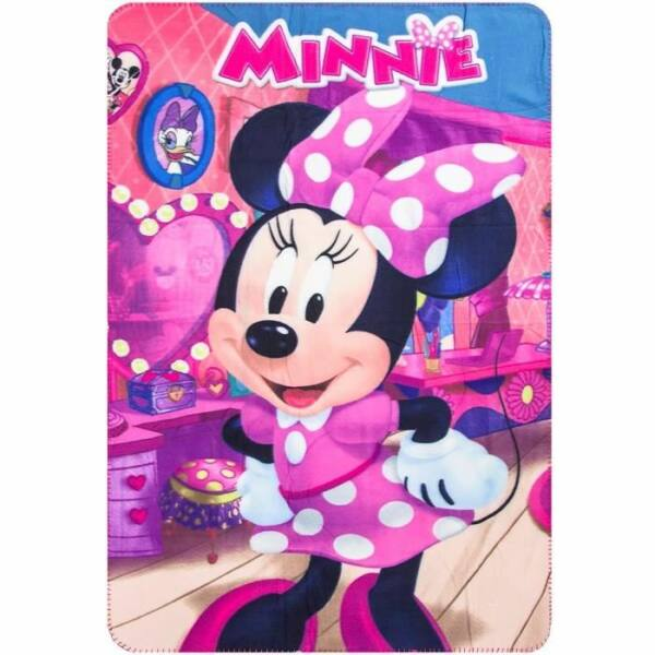 Minnie egér polár takaró