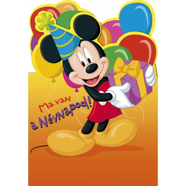 Mickey egér képeslap