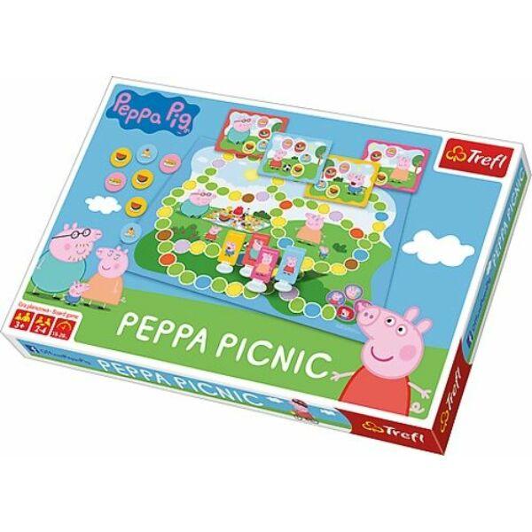 Peppa malac piknik társasjáték