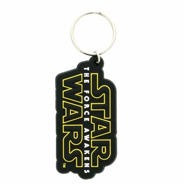 Star Wars gumírozott kulcstartó