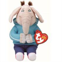 23 cm-es plüss Meena, az elefánt