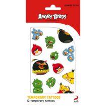 Angry Birds tetoválás szett - 12 db