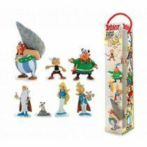 7 db-os Asterix és Obelix díszdobozos figura szett