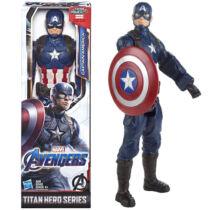 28 cm-es Amerika Kapitány mozgatható műanyag figura pajzzsal