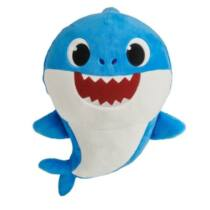 25 cm-es Baby Shark Apa cápa plüssfigura