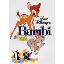 Bambi fém hűtőmágnes