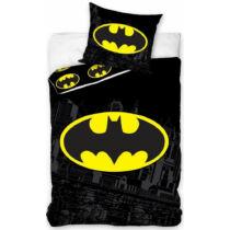 Batman logós felnőtt, pamut ágyneműhuzat szett
