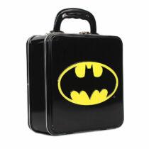 Batman logós fém uzsonnás táska (enyhén sérült)