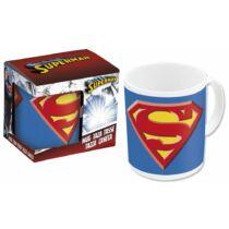 Superman logós kerámia bögre
