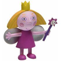 6 cm-es Ben és Holly apró királysága kis gumírozott műanyag Holly figura