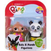 Bing nyuszi Sula és Pando díszdobozos figura szett