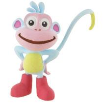 6 cm-es kis gumírozott műanyag Csizi, a majom figura