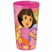 Dóra a felfedező műanyag pohár