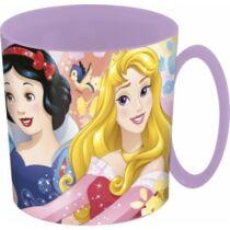 Disney hercegnők mikrózható műanyag bögre