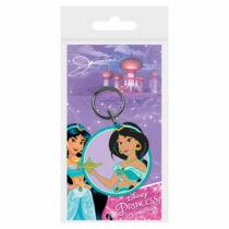 Disney Hercegnők Jázmin lapos gumírozott kulcstartó