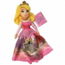 25 cm-es Disney Hercegnők cuki Csipkerózsika plüssfigura - rózsaszín