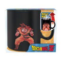 DragonBall Son Goku hőhatására változó kerámia bögre