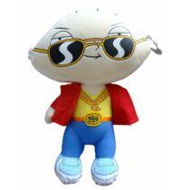 50 cm-es Family Guy napszemüveges gengszter Stewie nagy plüssfigura