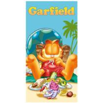 Garfield nagy törölköző