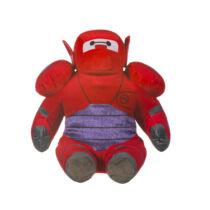 27 cm-es Hős6os Baymax ülő Disney plüssfigura - piros