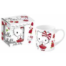 Hello Kitty kis kerámia bögre díszdobozban