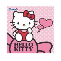 Hello Kitty négyzet alakú mágikus kis pamut törölköző