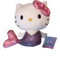 20 cm-es Hello Kitty a sellő plüssfigura