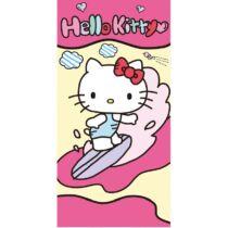 Hello Kitty szörfözik nagy pamut törölköző