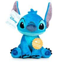 Lilo és Stitch mesebeli, angolul beszélő prémium Stitch Disney plüssfigura 27 cm - Stitch plüss