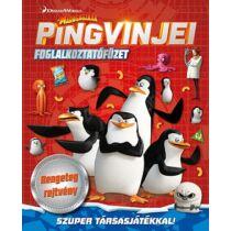 Madagaszkár Pingvinjei foglalkoztatófüzet - A4