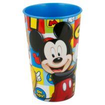 Mickey egér kis műanyag pohár