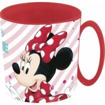 Minnie egér mikrózható Disney műanyag bögre