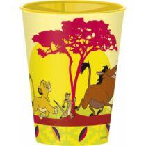 Oroszlánkirály műanyag pohár
