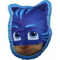 Pizsihősök Connor - Macska alakú puha plüssös párna - kék