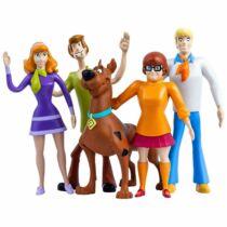 Scooby-Doo eredeti, mesebeli gumírozott prémium figura szett díszdobozban